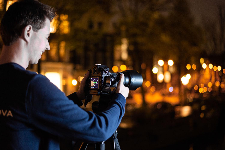 Renzo Gerritsen nachtfotografie Amsterdam