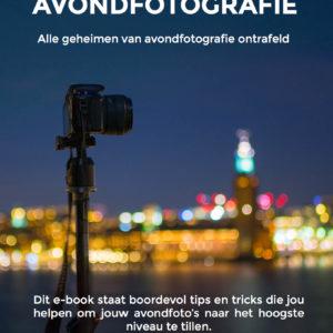 e-book avondfotografie cover