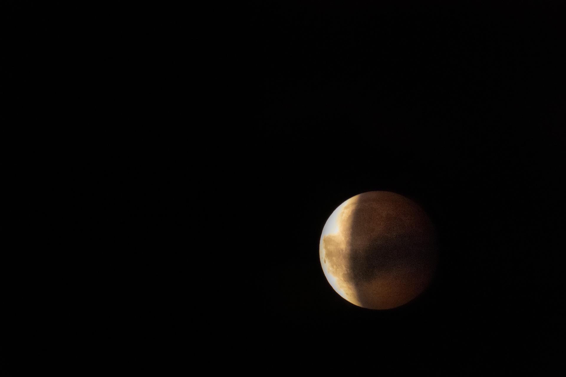 Maan fotograferen, maansverduistering