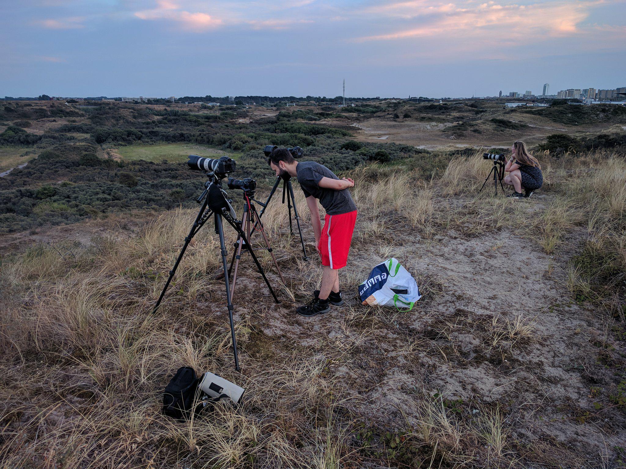 Maan fotograferen