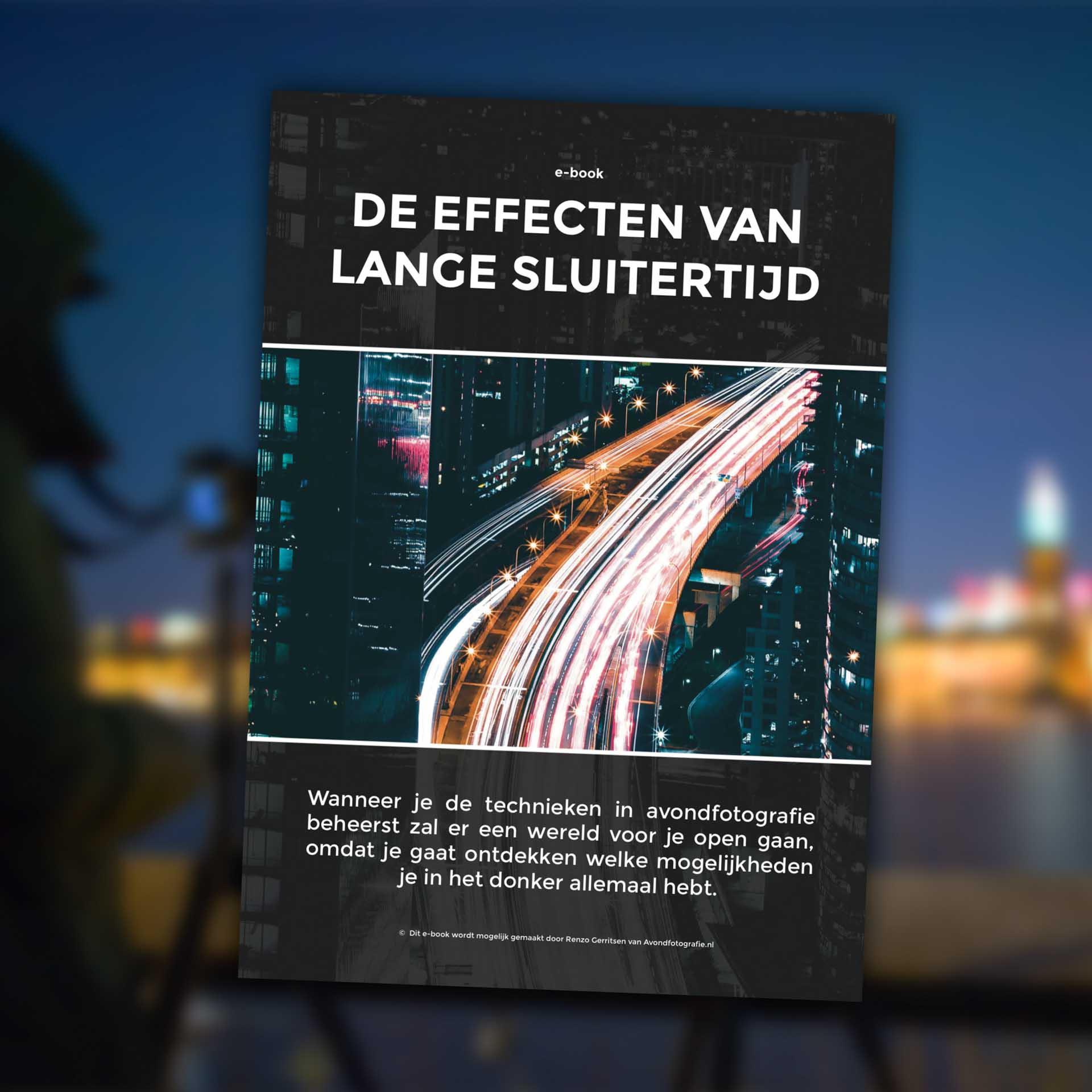 gratis e-book: De effecten van lange sluitertijd