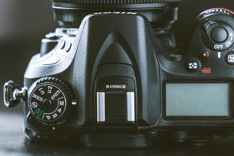 Instelwiel camera