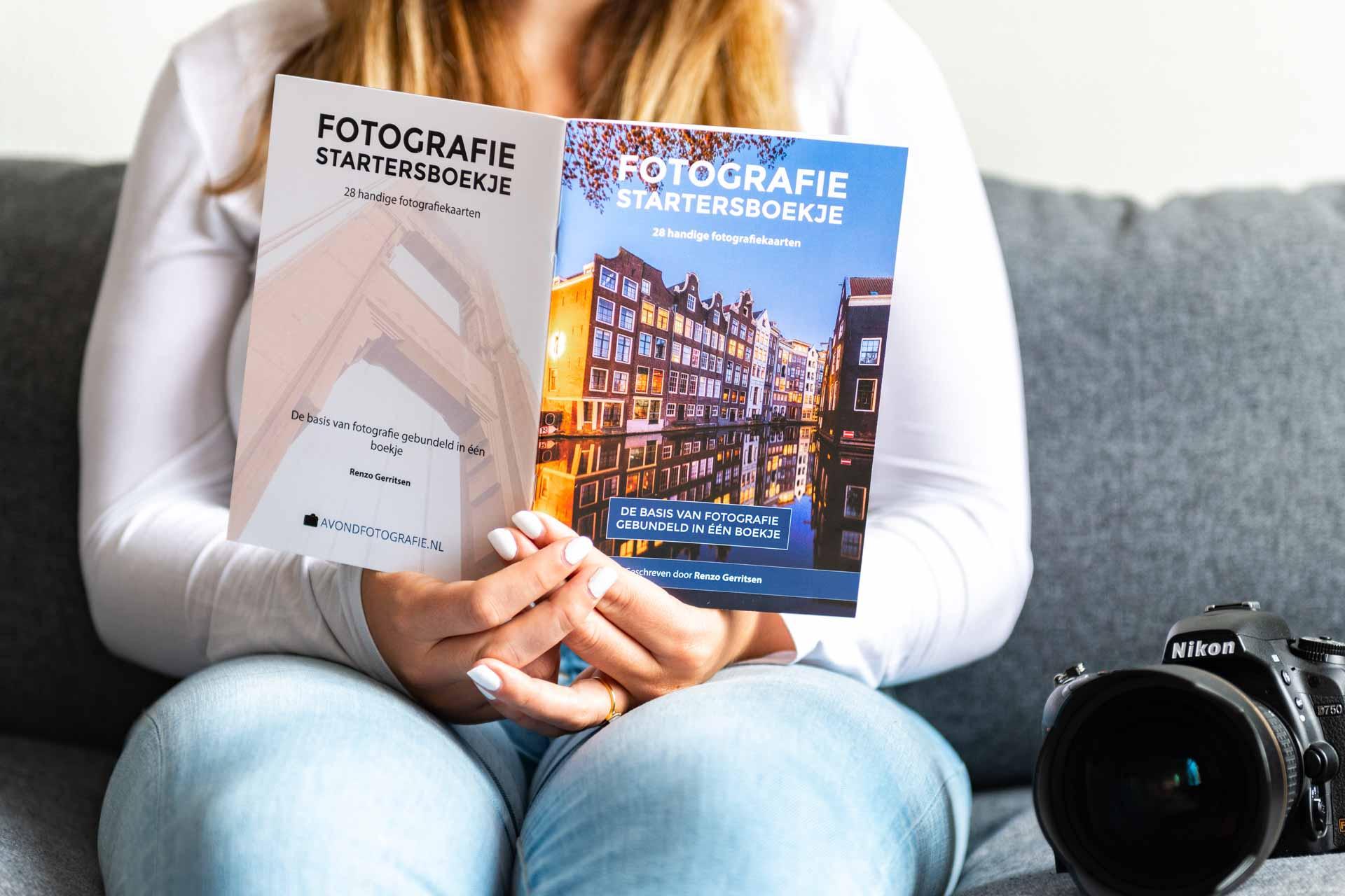 Fotografie Startersboekje fotografiekaarten