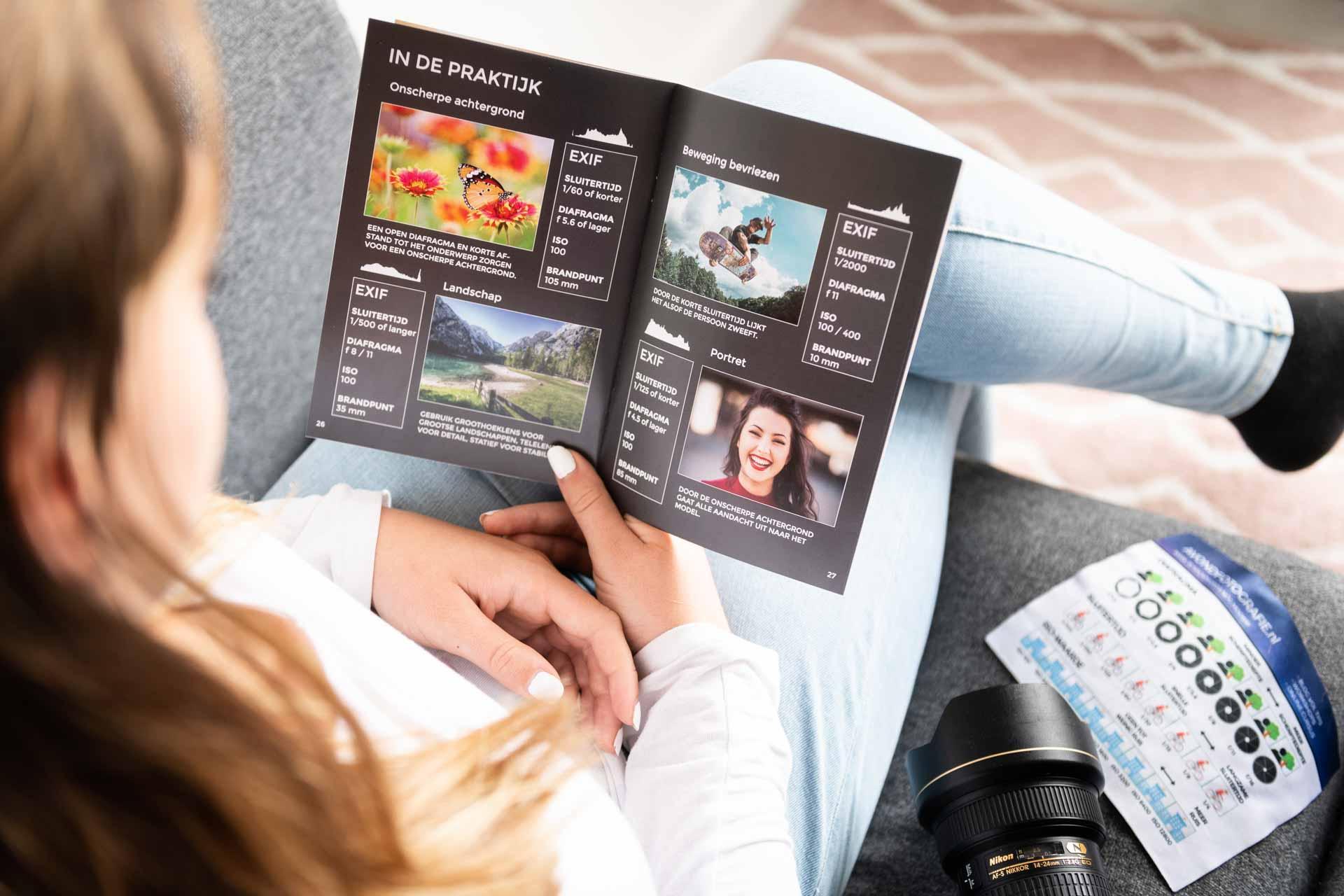 Fotografie Startersboekje - 28 handige fotokaarten
