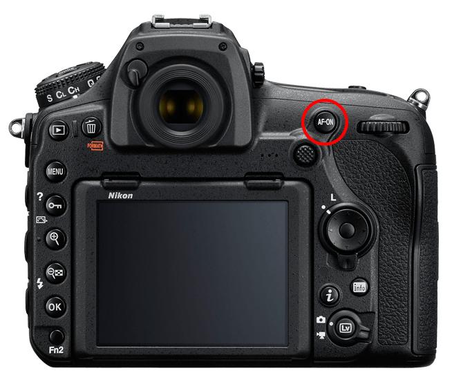 Nikon D850 AF-ON