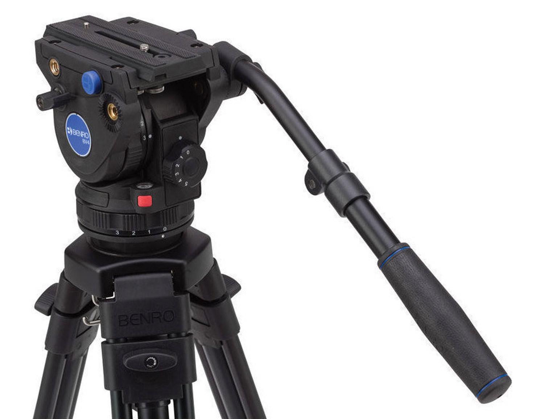 Vloeistofkop videokop statief
