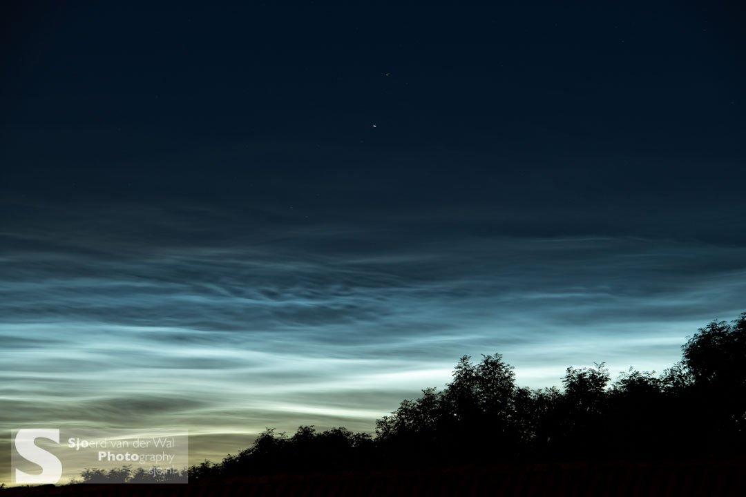 lichtende nachtwolken fotograferen