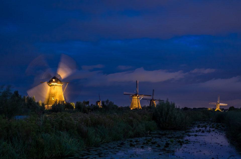 Frans Berkelaar, Kinderdijk Verlichtingsweek