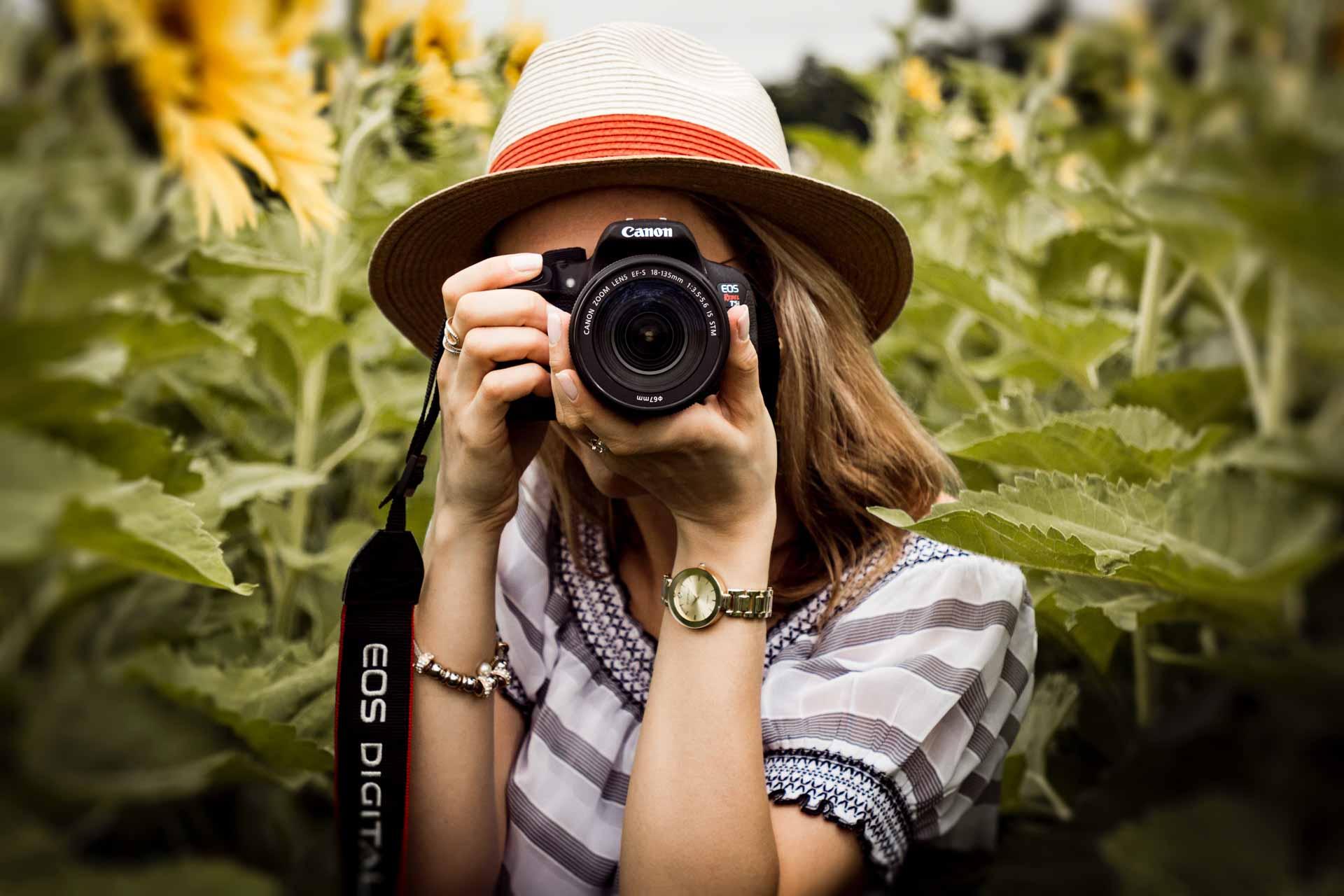 Houding tijdens fotograferen