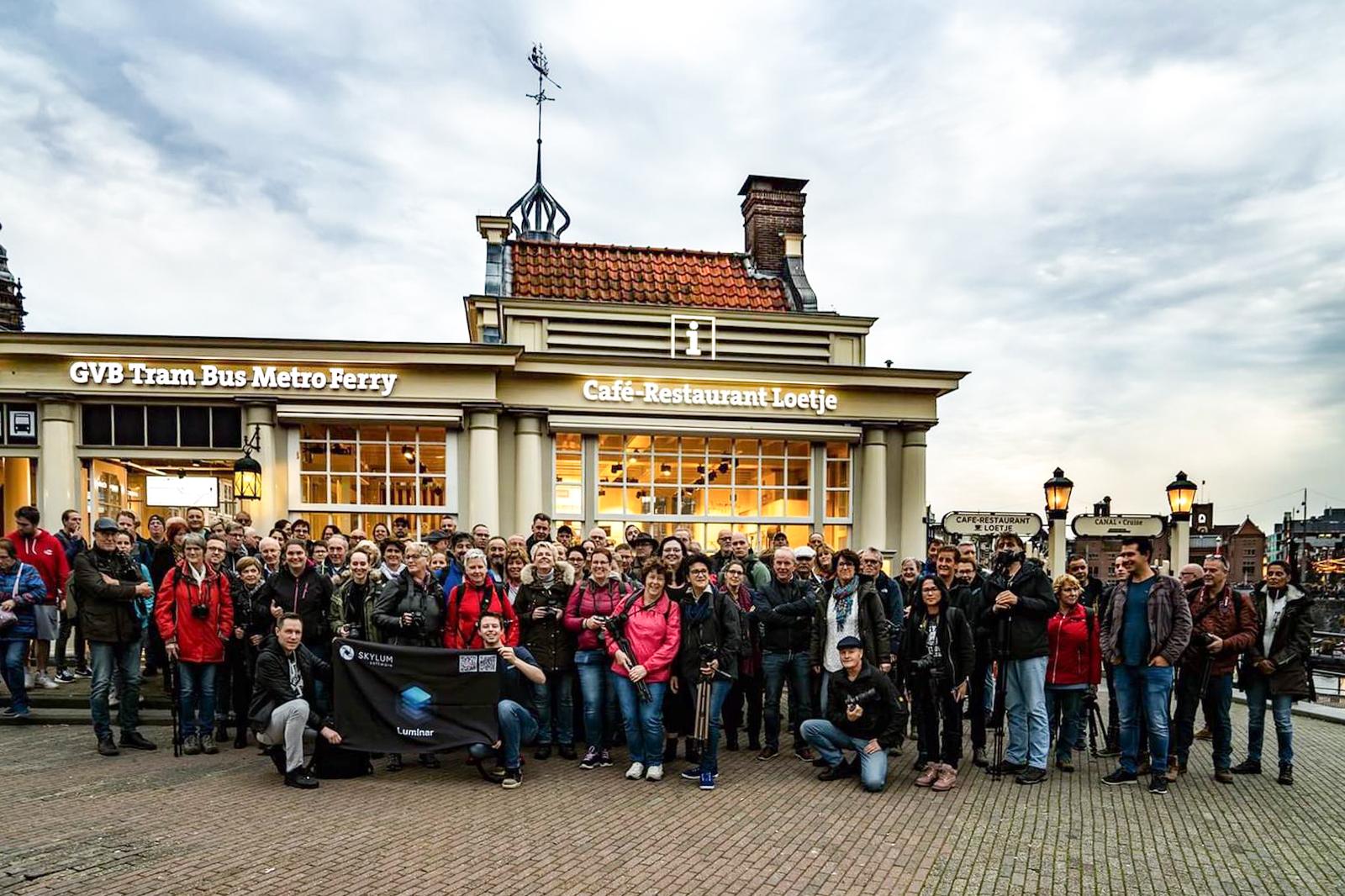 Groepsfoto Photowalk 26 oktober 2019 Amsterdam-2