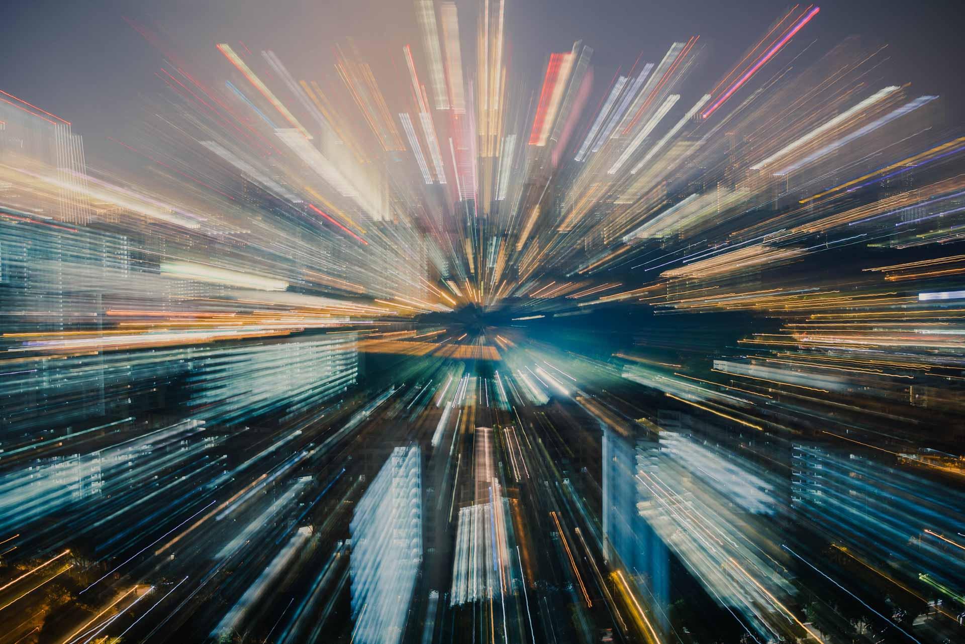 Hoe maak je een zoom burst foto