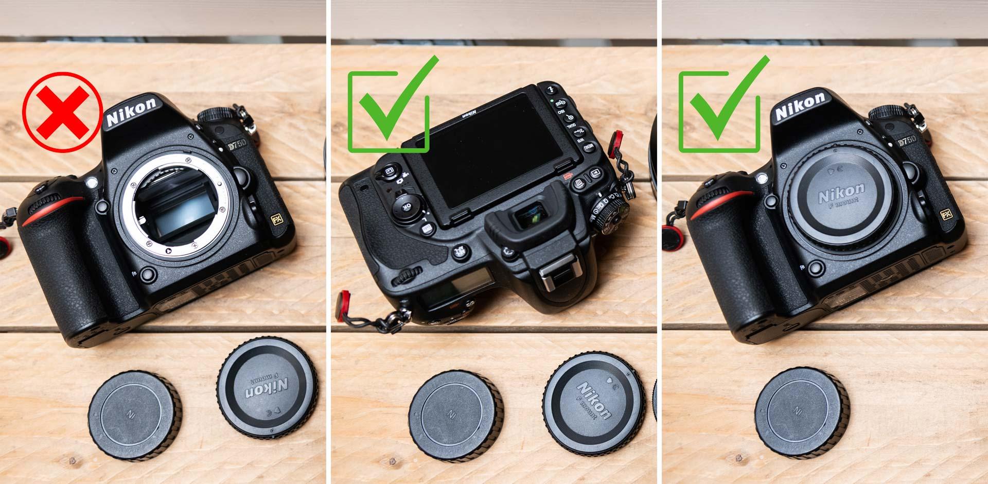 Tips voor het verwisselen van je lens