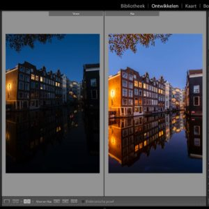 Adobe Lightroom fotobewerking
