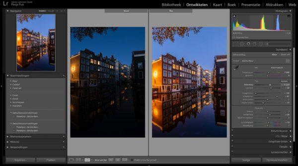 Adobe Lightroom fotobewerking