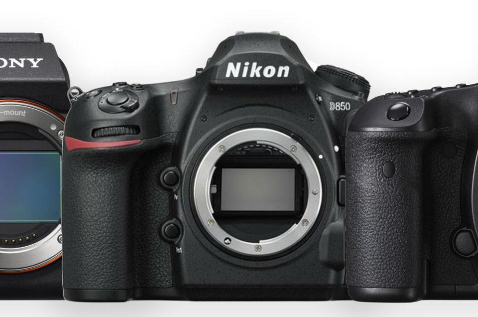 Sony, Nikon, Canon, hoge resolutie