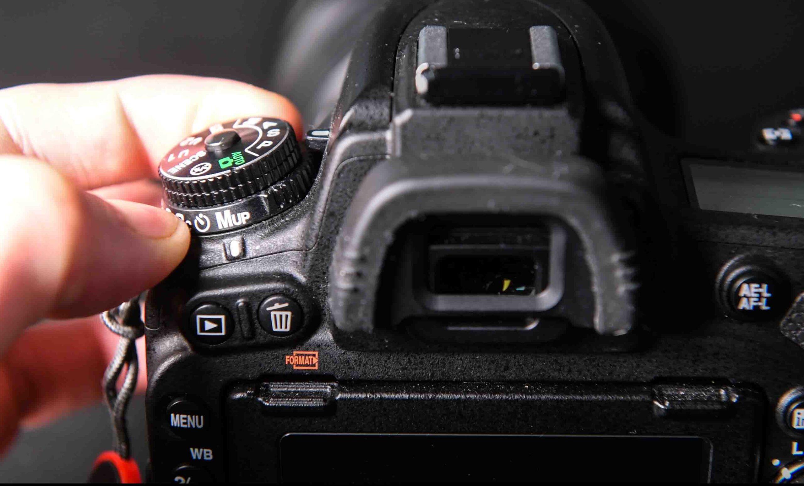 MUP spiegelopklapfunctie Nikon