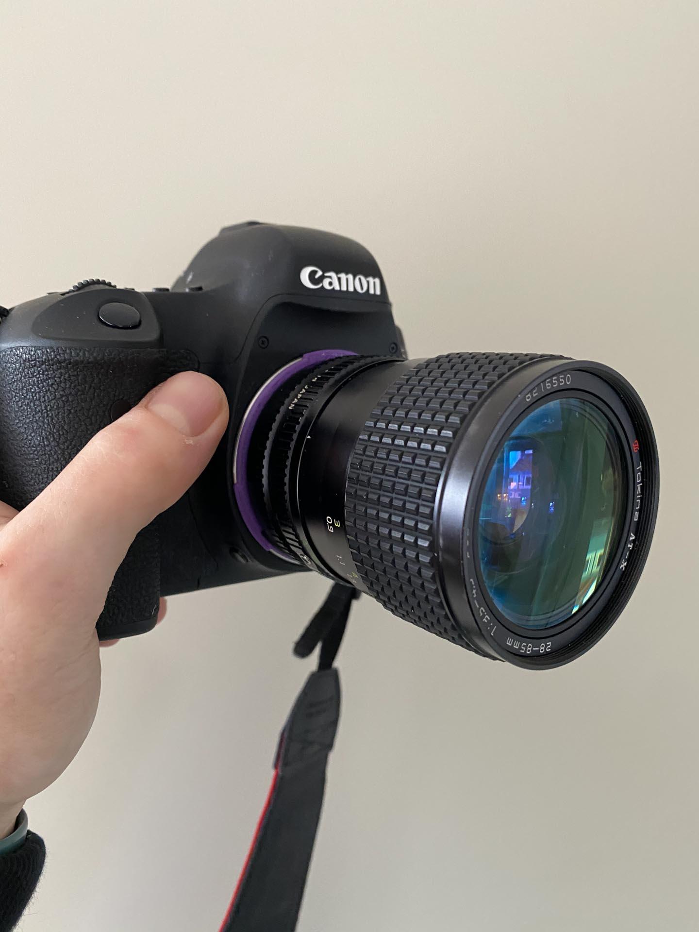 Camera-onderdelen 3D printen
