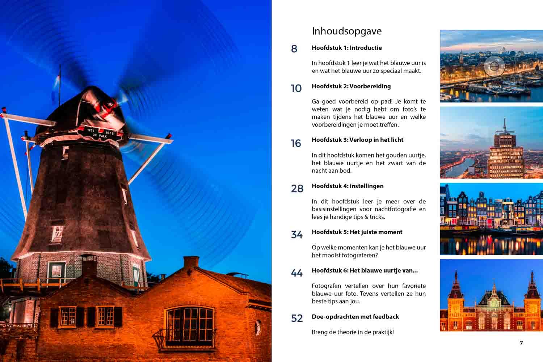 Hulpgids E-book het blauwe uur