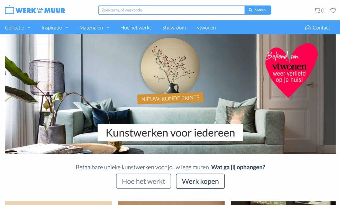 Homepage WerkAanDeMuur.nl