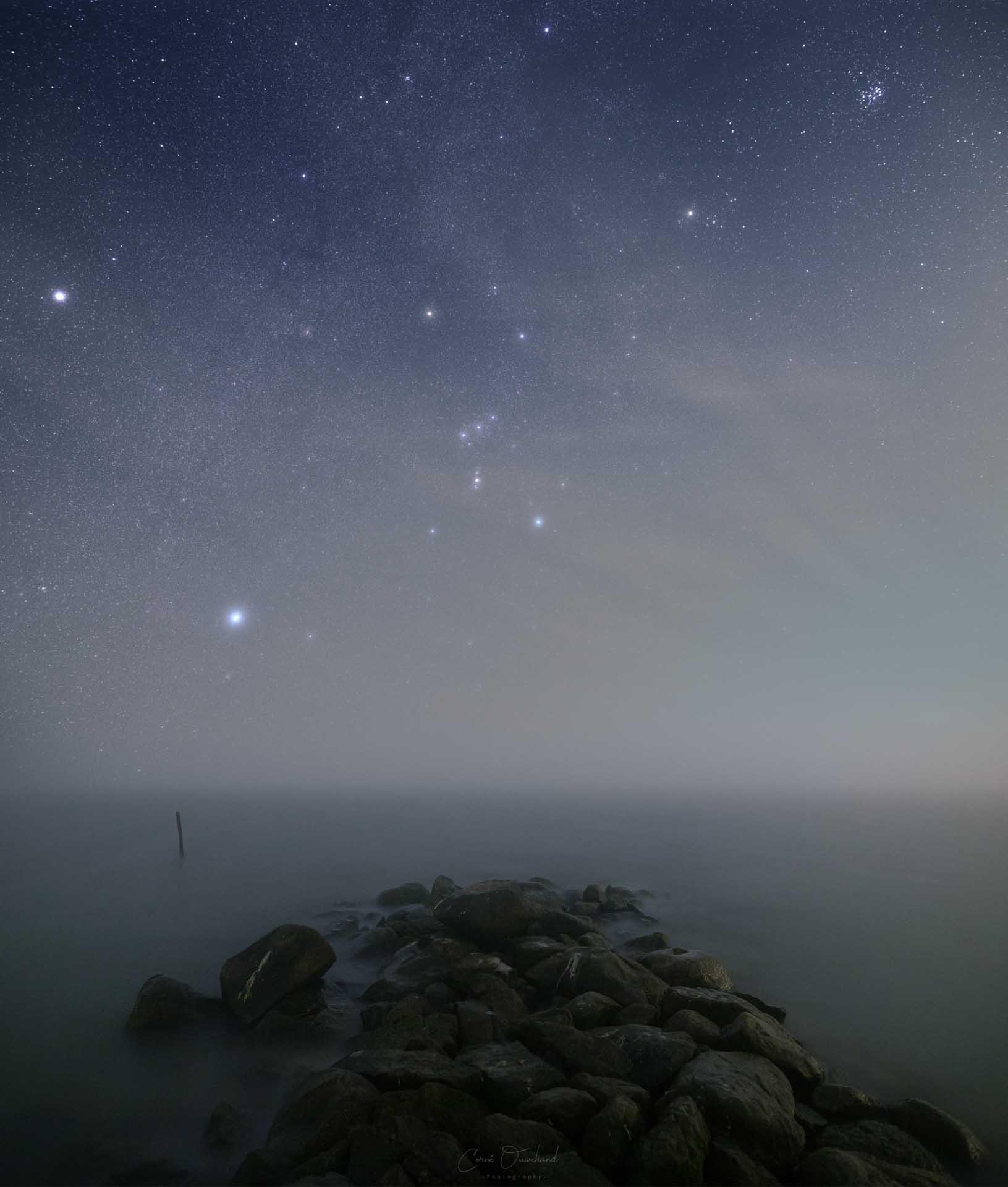 Melkweg fotografie startracker