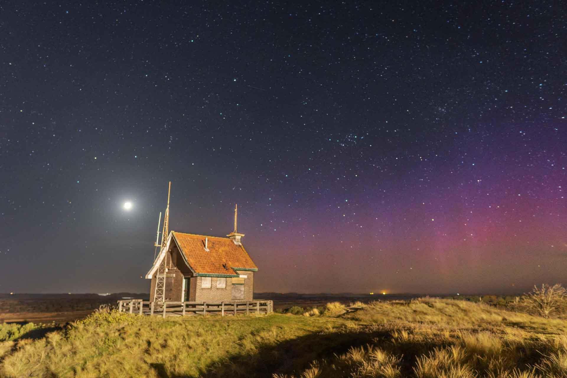 Noorderlicht fotograferen in nederland