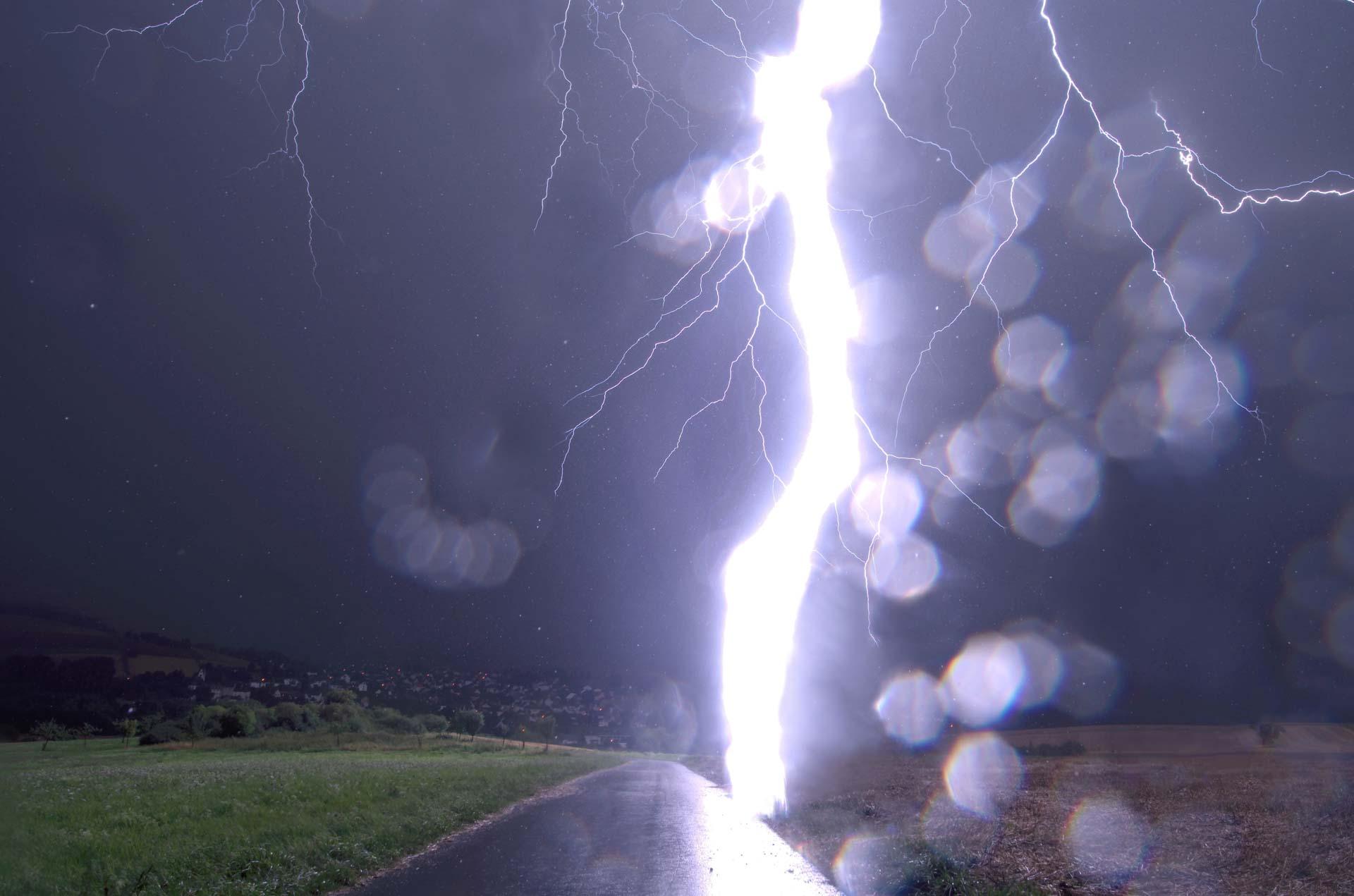 Onweer fotograferen Wouter van Bernebeek