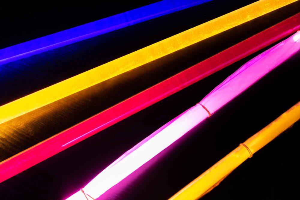 Benodigdheden light tube lightpainting